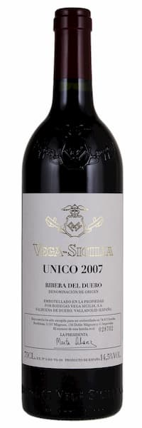 Vega Sicilia Único 2007 1