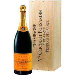 Jeroboam Veuve Clicquot Brut 3000ml Com Caixa de Madeira