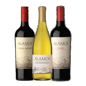 Pack Promocional 3 Unidades de Vinho Alamos
