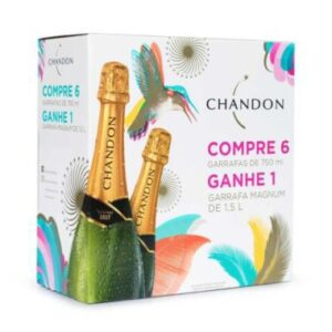 Chandon Réserve Brut Pack 6 gfs 750ml e 1 Magnum 1500ml