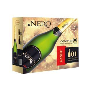 Ponto Nero Espumante Brut – Embalage Promocional (6 + 1)