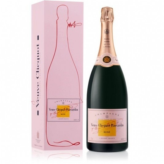 Veuve Clicquot Rich Rose 750 ml com Cartucho