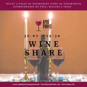Wine Share – 31/07/2019 (Quarta-feira)