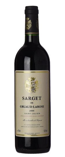 Sarget de Gruaud Larose 2011  Deuxième vin 1