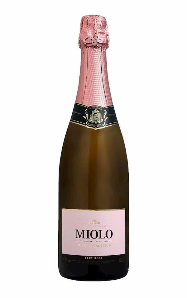 Espumante Miolo Rose Brut Cuvée Tradition 750ML 1